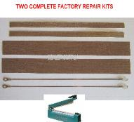 Repair kit for hand impulse sealer